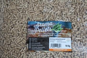 Räucherpellets in Geschmacksrichtung Salbei
