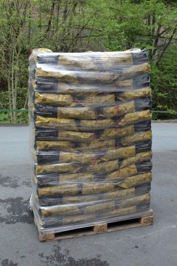 Grill-Holzkohlebriketts 3 kg je Palette