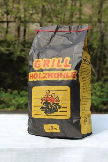 Grill-Holzkohle 3 kg