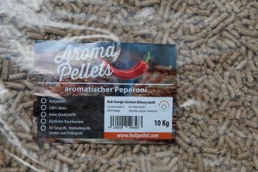 Räucherpellets in Geschmacksrichtung Peperoni