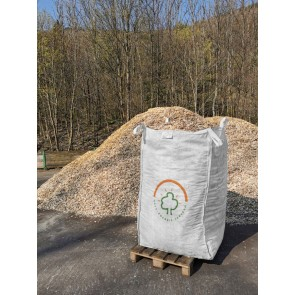 Zertifizierte Fallschutz-Hackschnitzel im Big Bag